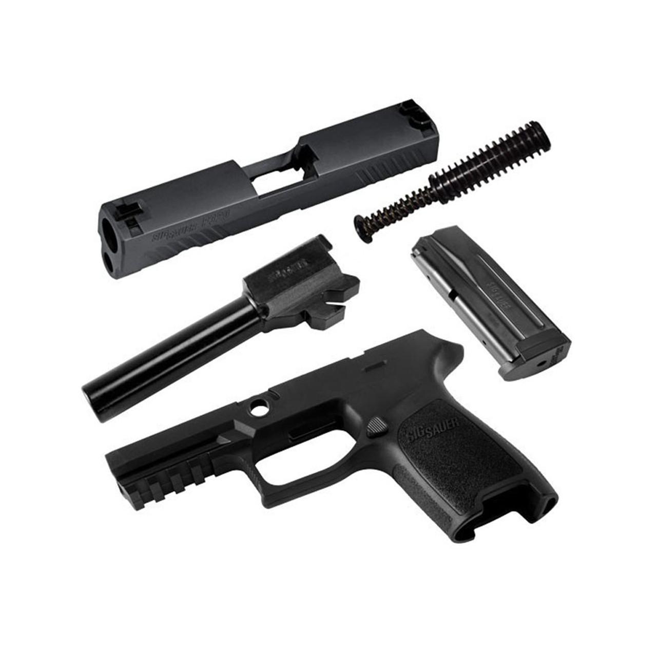 medium resolution of sig sauer p320 compact 9mm 15rd mag black caliber x change kit calx