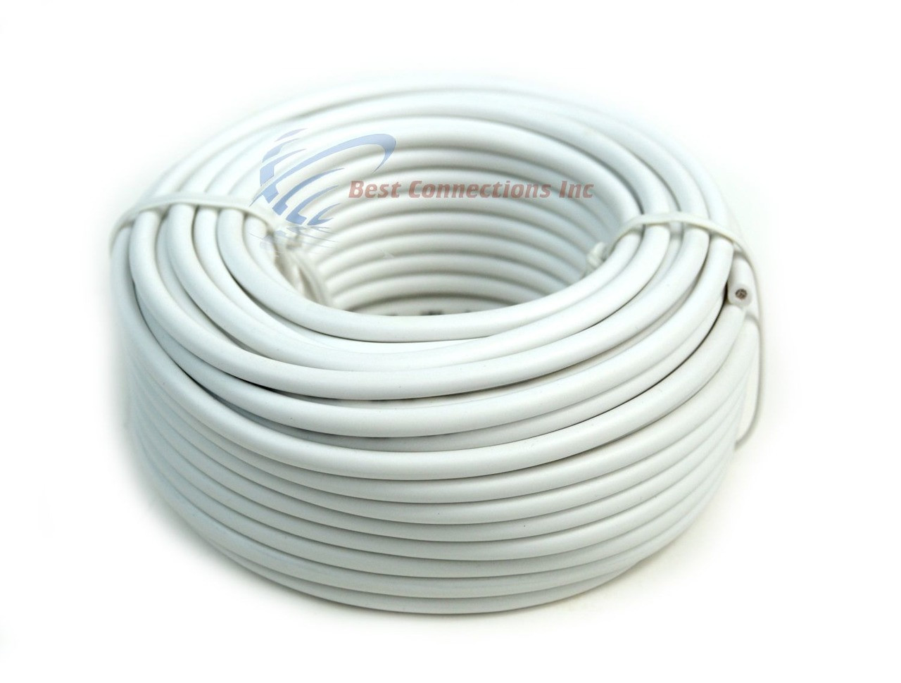 small resolution of 12 gauge 50 feet white audiopipe car audio home remote primary cable wire led