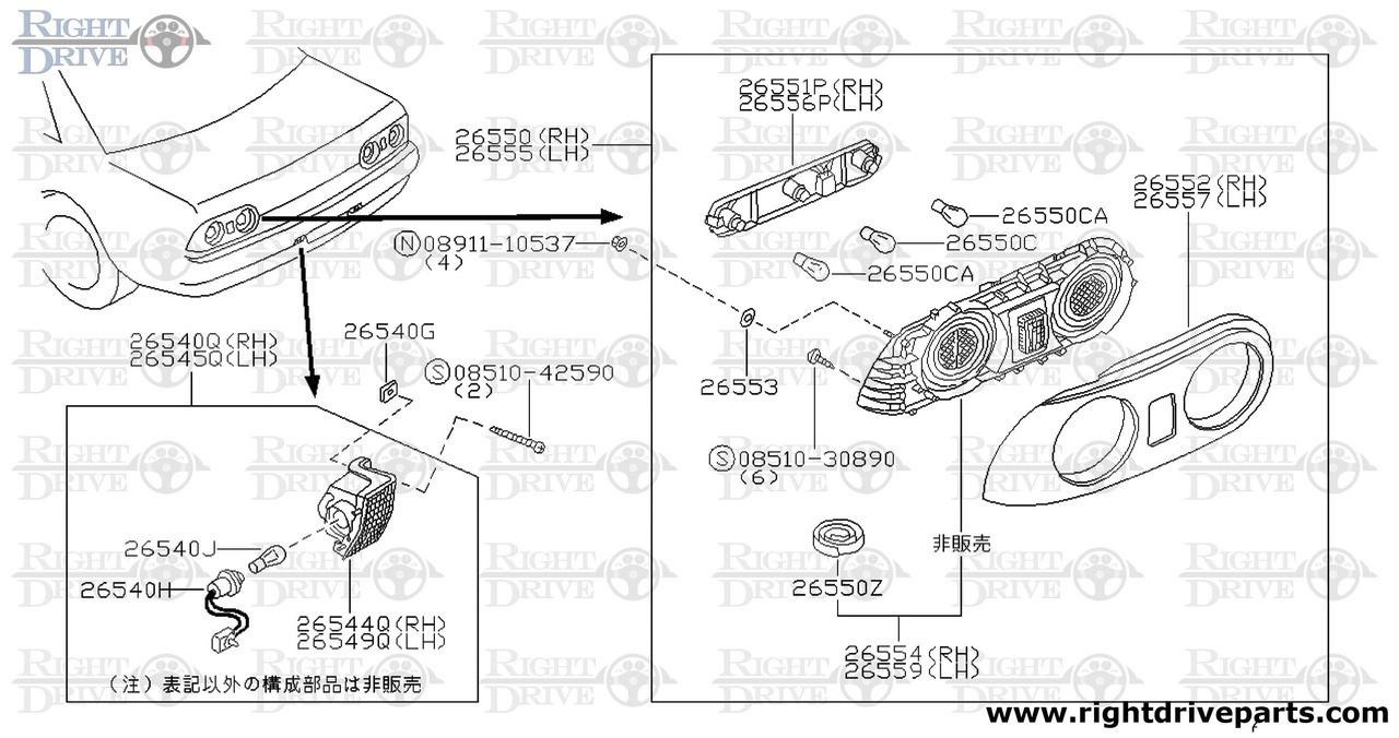 medium resolution of trailer light wiring diagram nissan gtr
