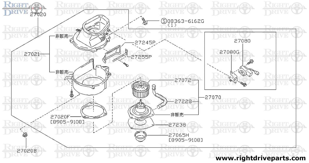 heating diagram nissan [ 1280 x 676 Pixel ]