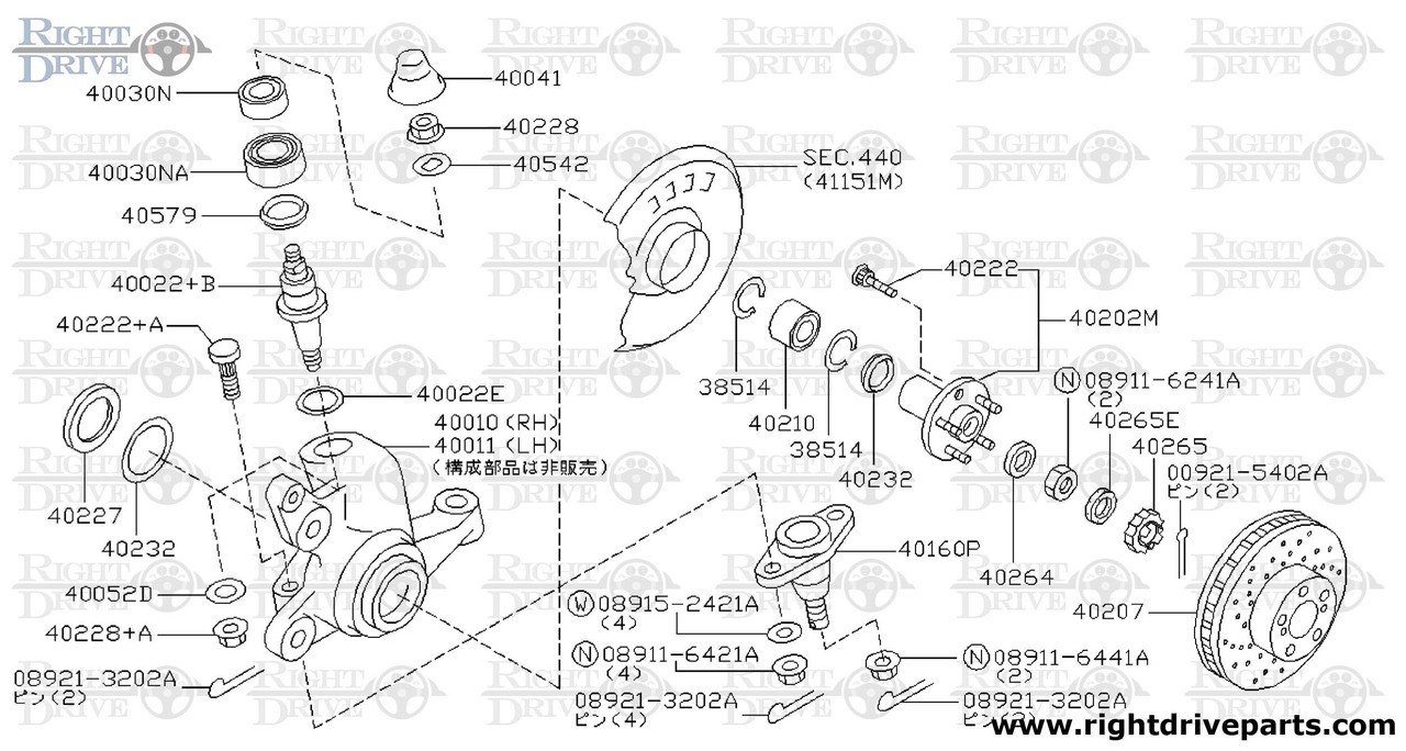 hight resolution of diagram of wheel bearing
