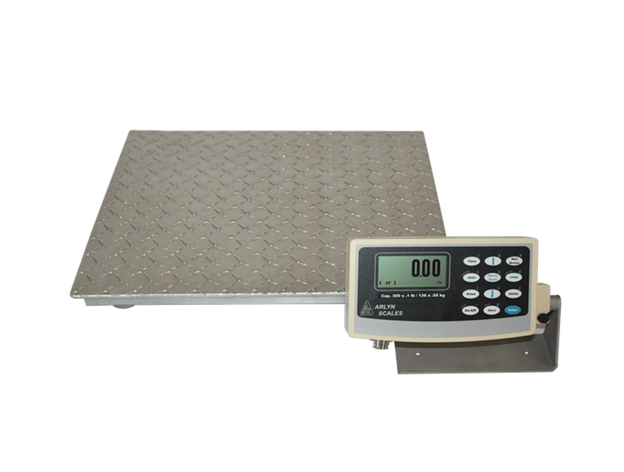 Platform Scales With Industrial Technology Aluminum