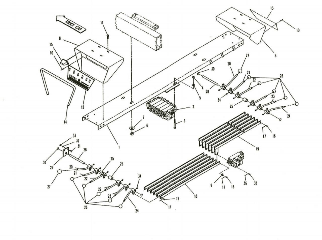 Saginaw 3 And 4 Speed Diagram