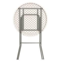 Folding Chair Round Nursery Rocking Australia Rhino Lite 32 Plastic High Top Cocktail Table 43 5 Bar