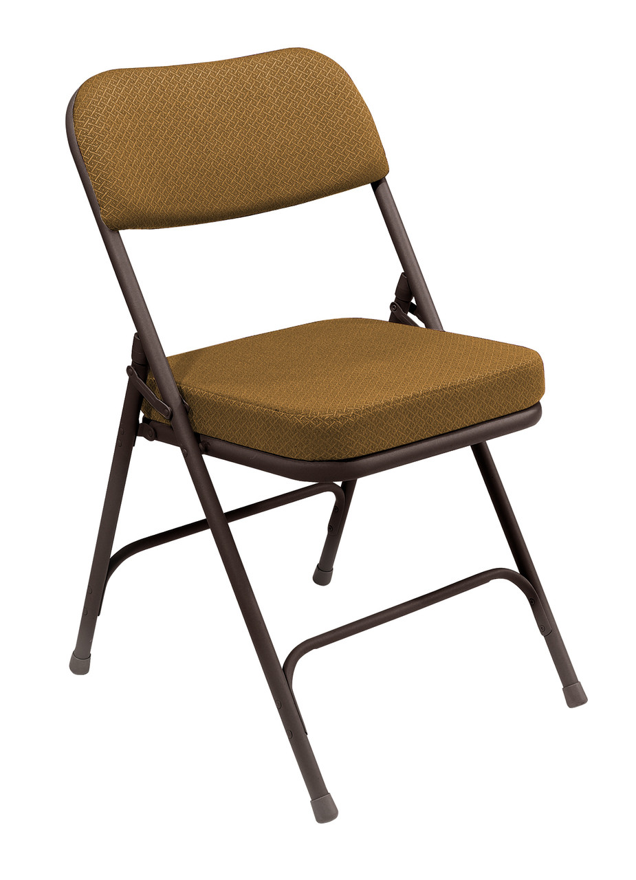 cloth padded folding chairs racing gaming chair premium 2 thick fabric by national public seating 3200 series