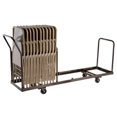 Folding Chair Dolly The Best Gaming Linear Storage And Transport By National Public Seating Model Dy 35