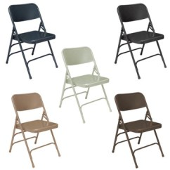 Chair Steel Folding Antique Ladder Back Chairs With Arms Metal Body Builder Deluxe By National Public Seating 300 Series