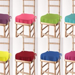 Folding Chair With Cushion Antique Childs Rocking Value Solid Polyester Chiavari Seat Cover