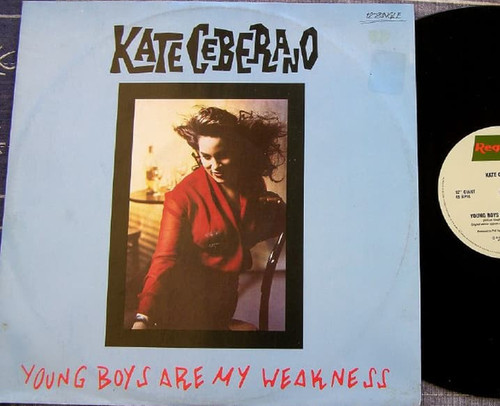 """Kate Ceberano - Young Boys Are My Weakness Maxi 12"""" EP"""