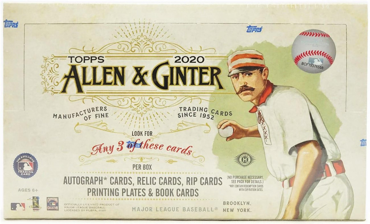 A place to post bugs you've noticed regarding the new update. 2020 Topps Allen Ginter Baseball Hobby Box The Baseball Card King Inc