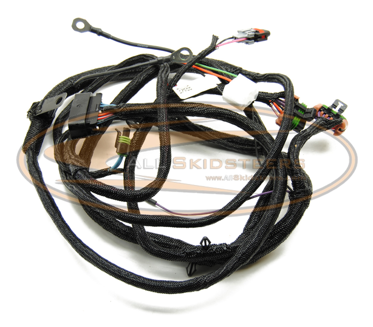 small resolution of cab wiring harness standard for bobcat skid steer replaces oem 6727178