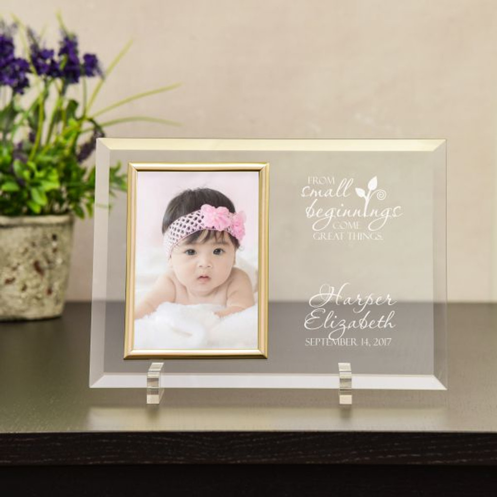 small beginnings personalized baby