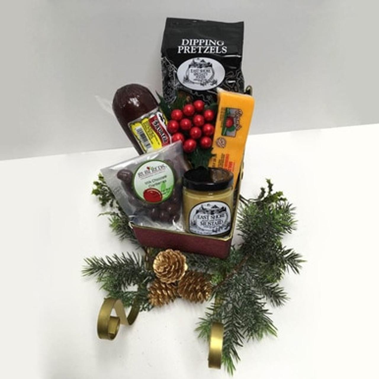 Christmas Sausage Gift Baskets