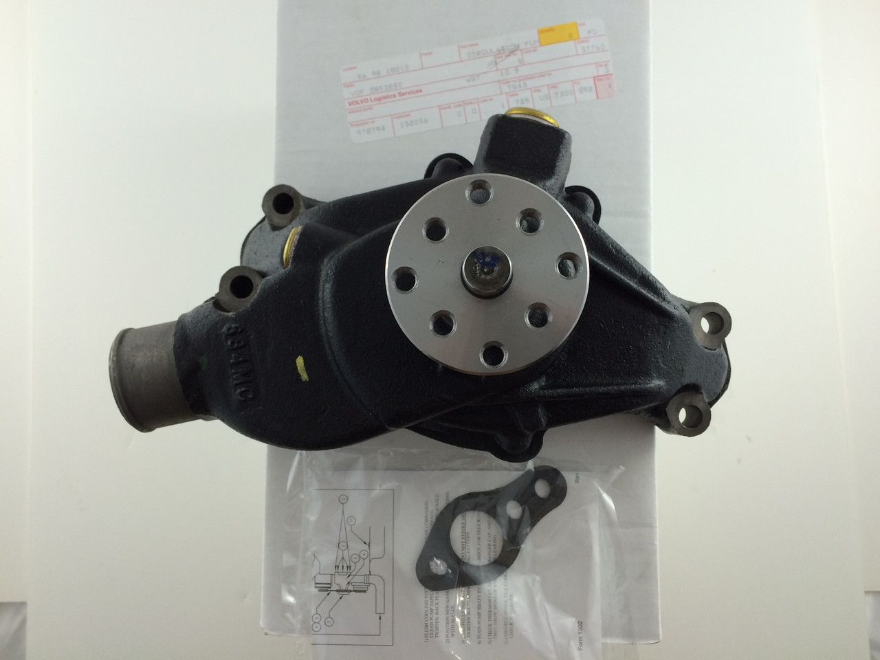 medium resolution of  132 58 circulation water pump 3853850 in stock ready to ship cecil marine