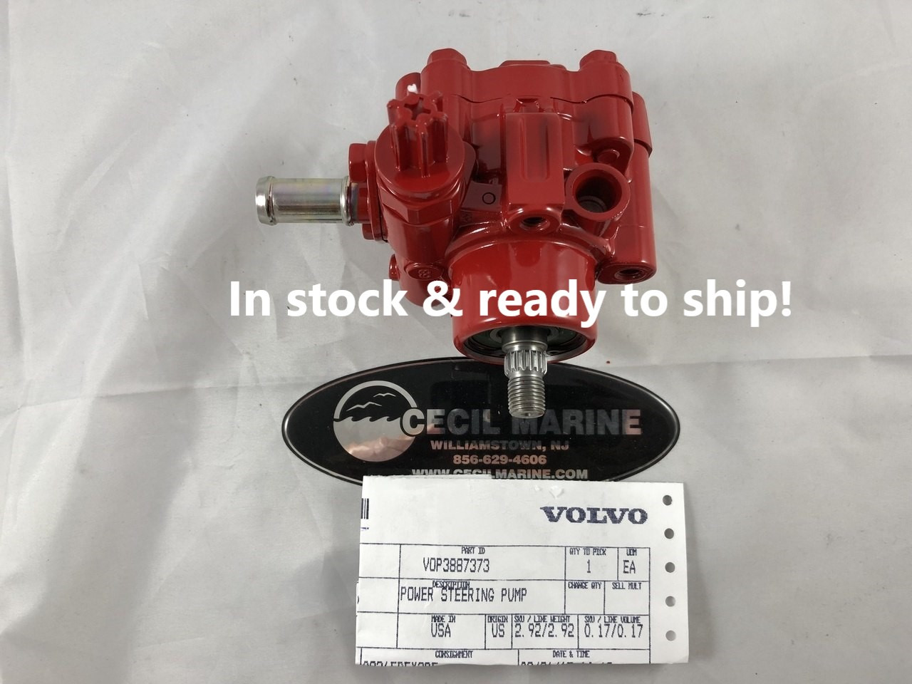 medium resolution of  439 47 genuine volvo power steering pump 3887373 in stock ready to ship