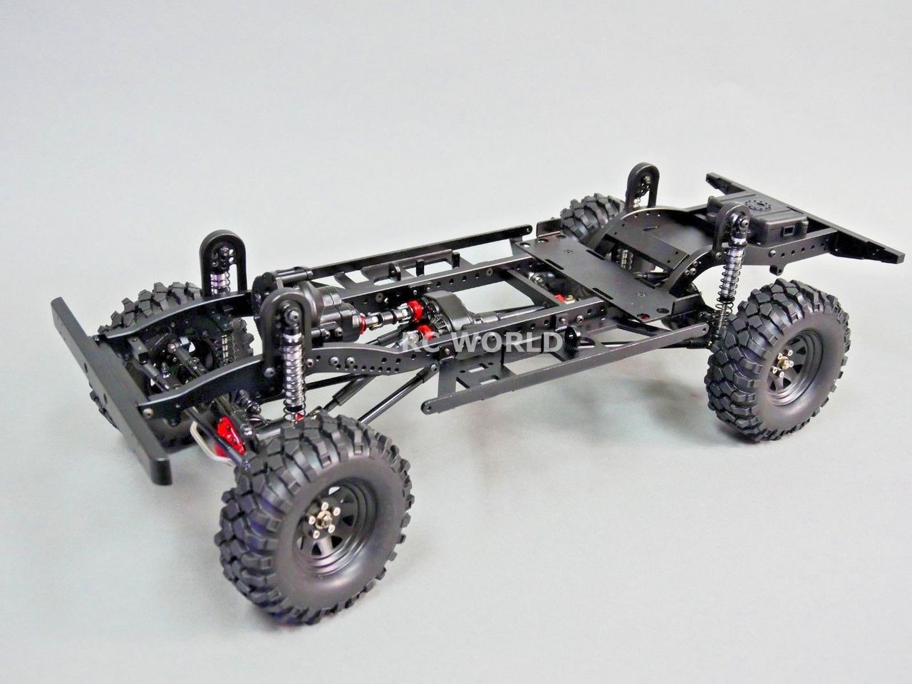 small resolution of rc new land rover defender 110 truck d110 chassis metal custom rolling chassis rc world