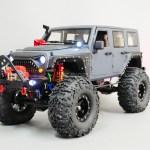 1 10 Rc Jeep Wrangler Rubicon 2 Speed Rock Crawler 8 4v Rtr