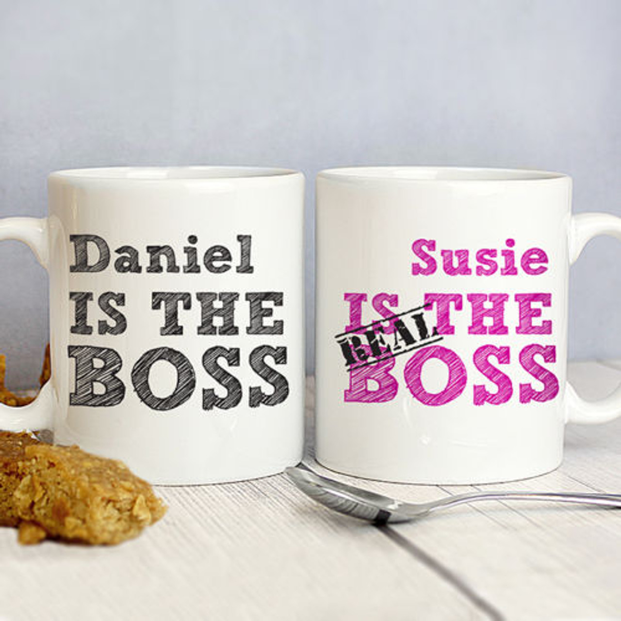 personalised mug set the