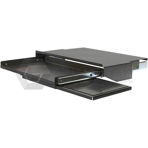 keyboard shelf rack mount drawer