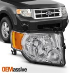 Fit 2008 2009 2010 2011 2012 Ford Escape Passenger Side Headlight Replacement Oemassive