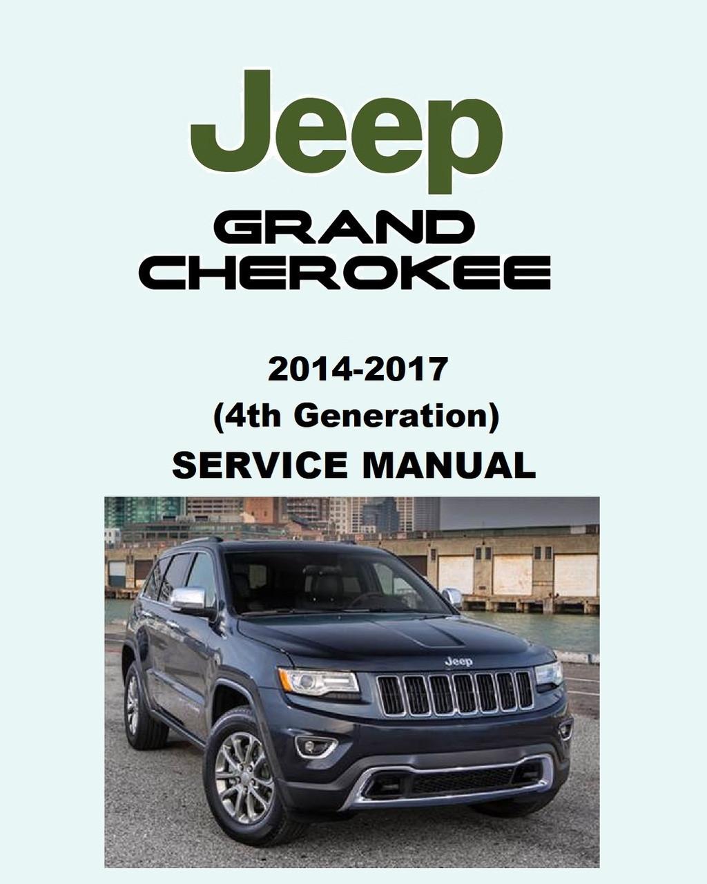Jeep Grand Cherokee Parts Catalog Pdf : grand, cherokee, parts, catalog, Grand, Cherokee, Service, Manual