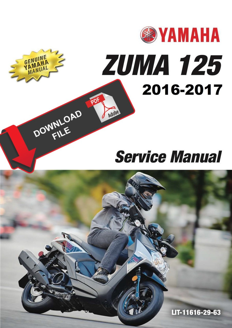 zuma manual yamaha service