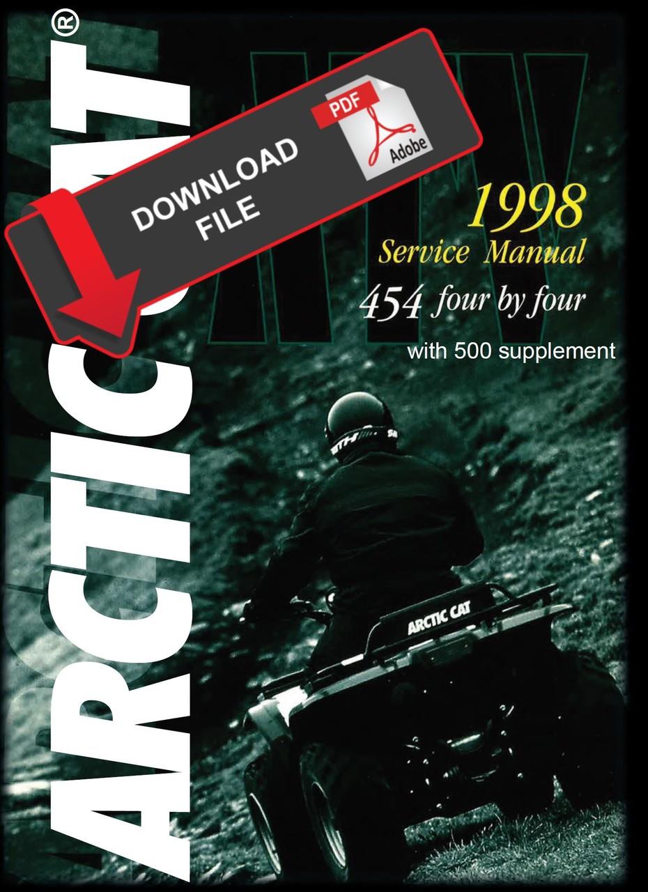 arctic cat 1998 454 4x4 atv service manual on arctic cat atv tracks arctic cat arctic cat bearcat wiring  [ 930 x 1280 Pixel ]