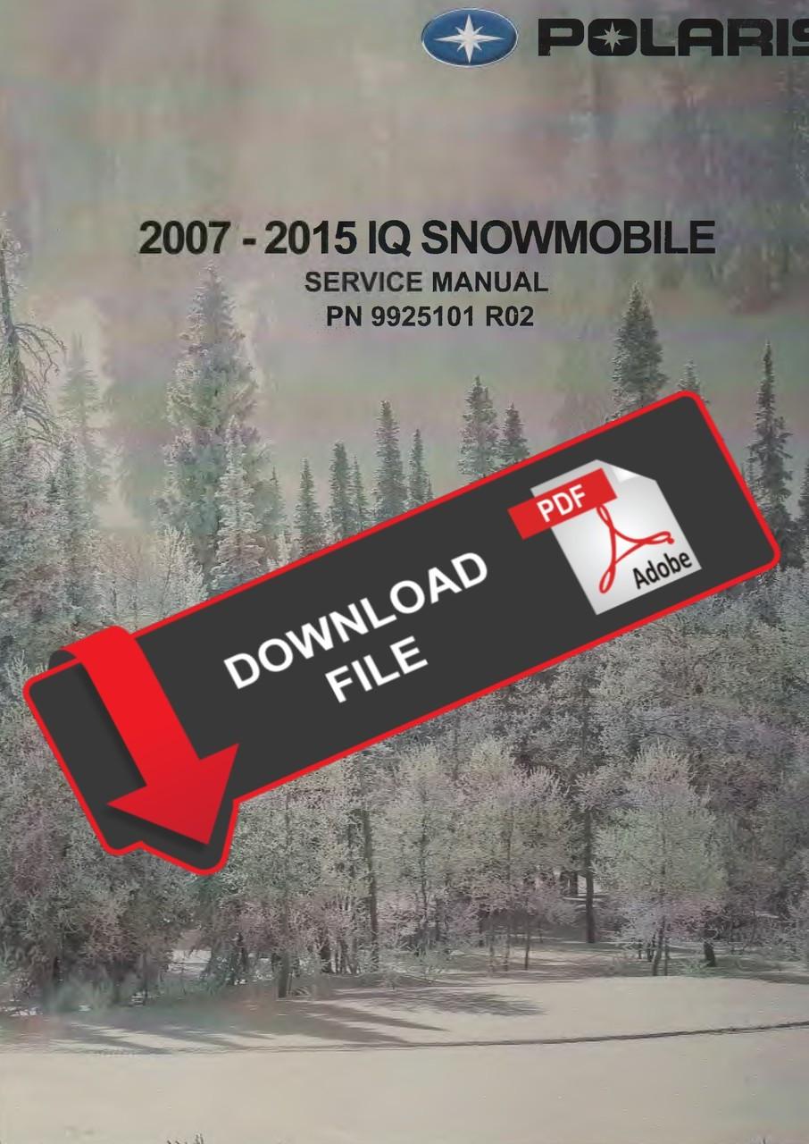 polaris 2008 600 rmk 144 service manual [ 906 x 1280 Pixel ]