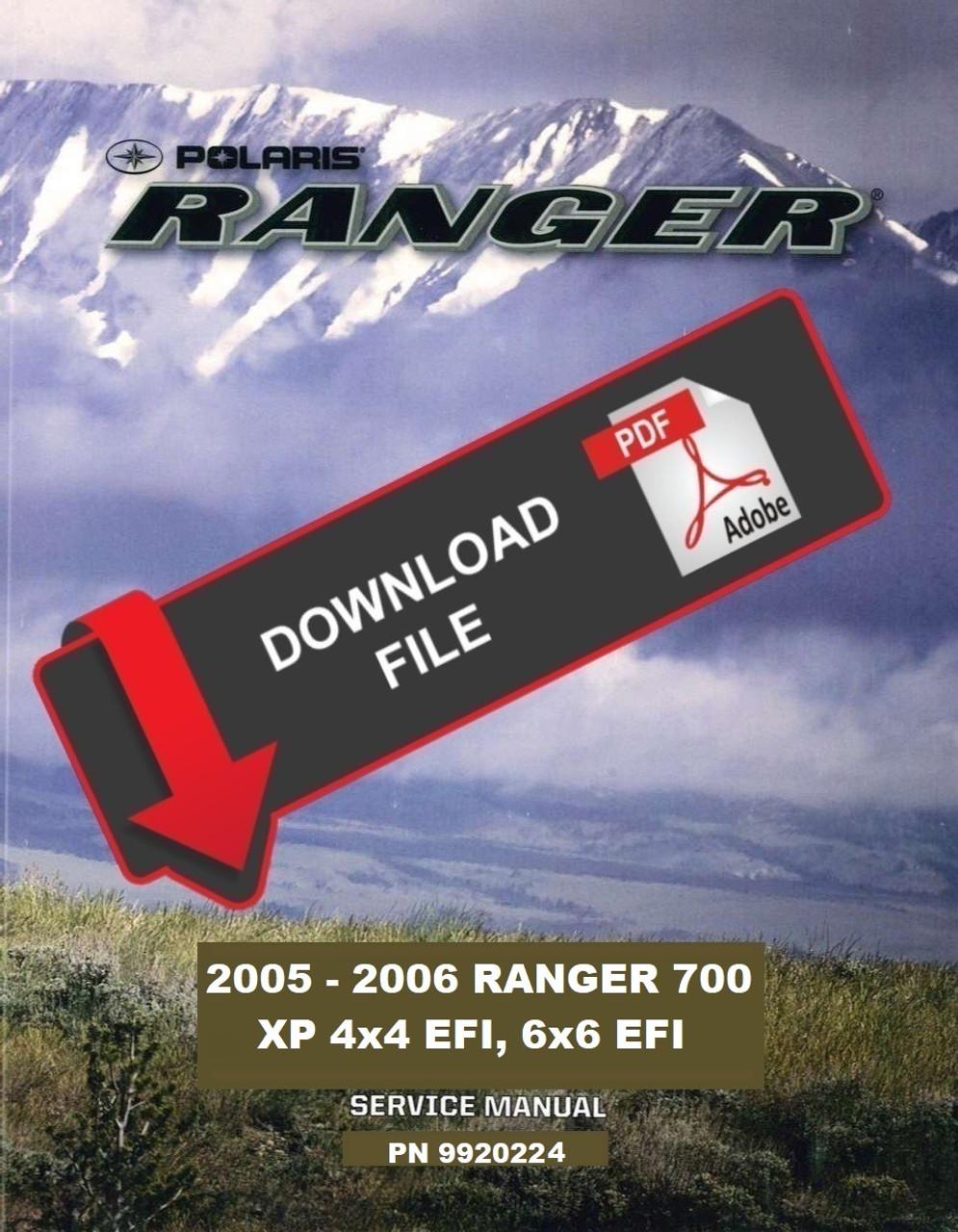 medium resolution of  polaris 2005 ranger xp 4x4 service manual on polaris ranger rzr 800 kawasaki teryx 750