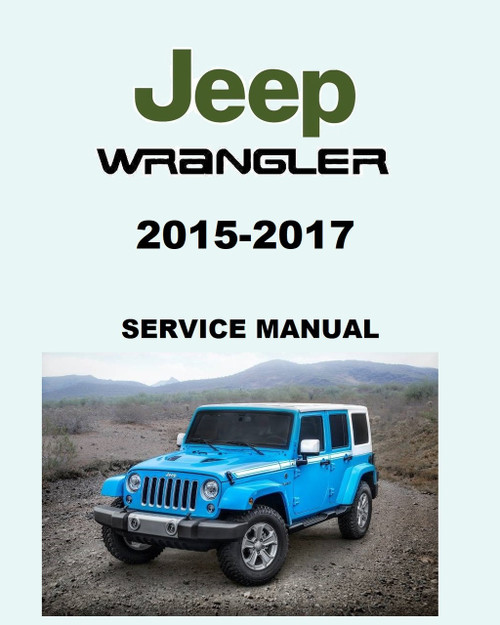 2013 Jeep Wrangler Owners Manual : wrangler, owners, manual, Wrangler, Unlimited, Service, Manual