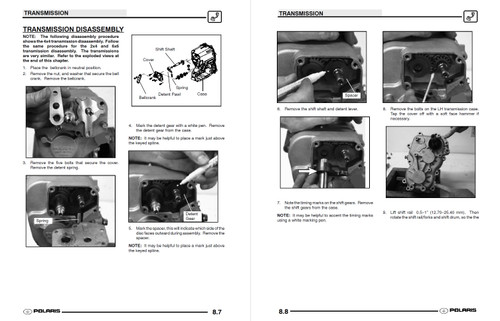 2004 Polaris Ranger 4x4 Service Manual