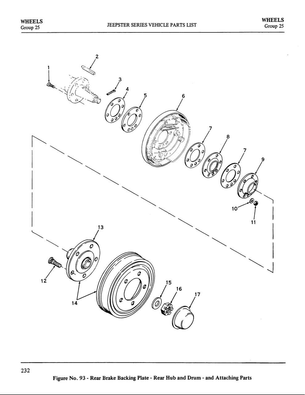 medium resolution of washer rear axle dana 44