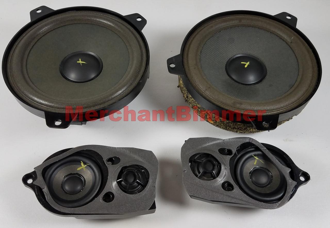 medium resolution of bmw e46 325ci 323ci door card loud speakers tweeters 8368238