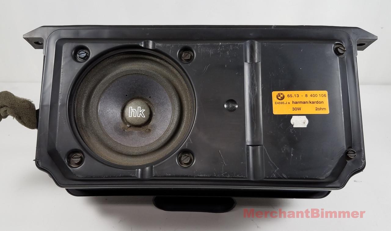 medium resolution of bmw e36 7 z3 roadster rear subwoofer speaker 8400106