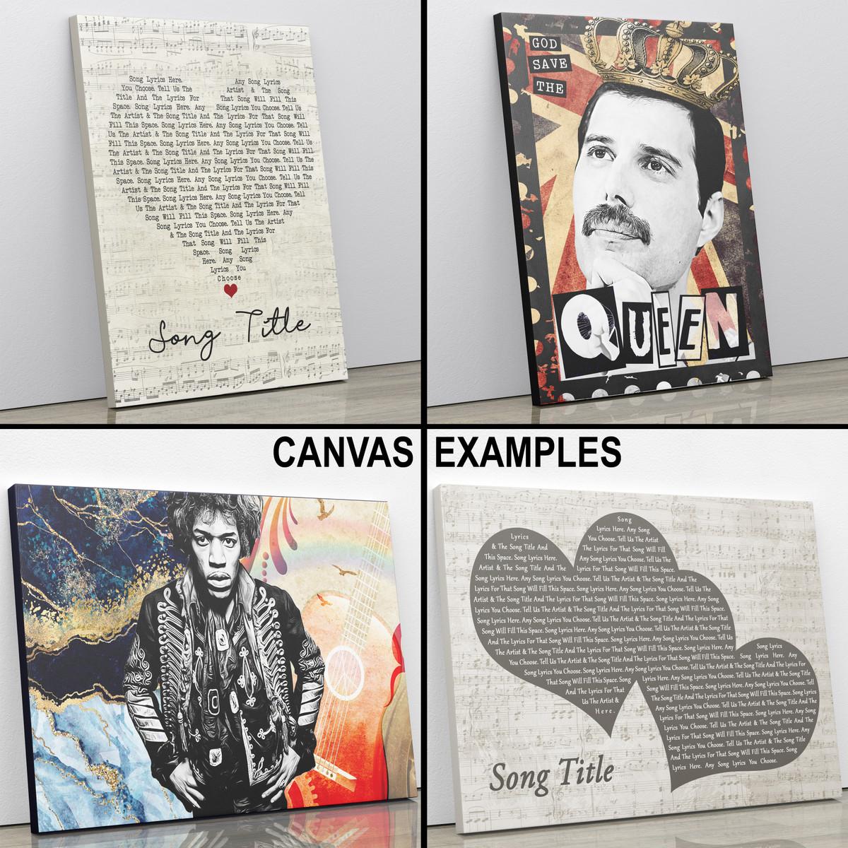 song lyric prints