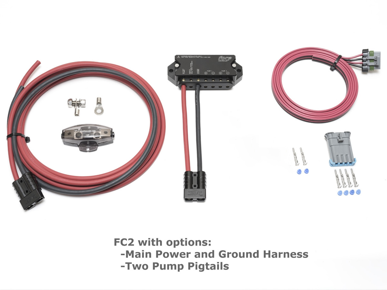 hight resolution of fore innovations fc2 corvette dual fuel pump controller with harness pigtails vette lab