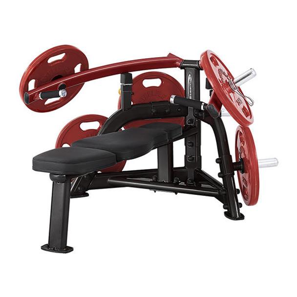 gym chest chair small futon plbp steelflex machine plate loaded gtech fitness press