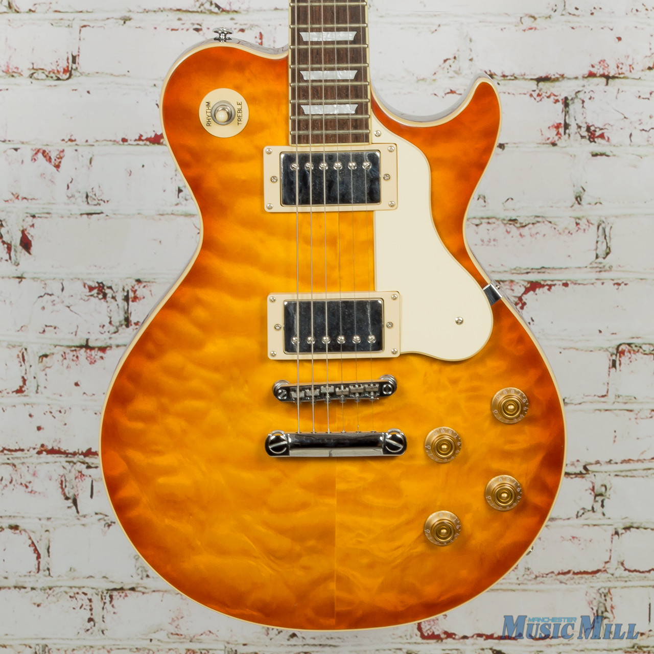 small resolution of samick greg bennett designed avion quilted maple used manchester music mill