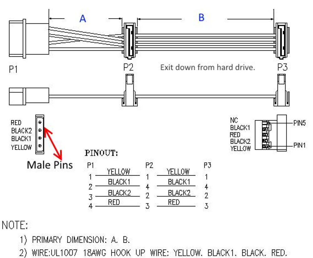 hight resolution of p 2 adapter to usb wiring diagram