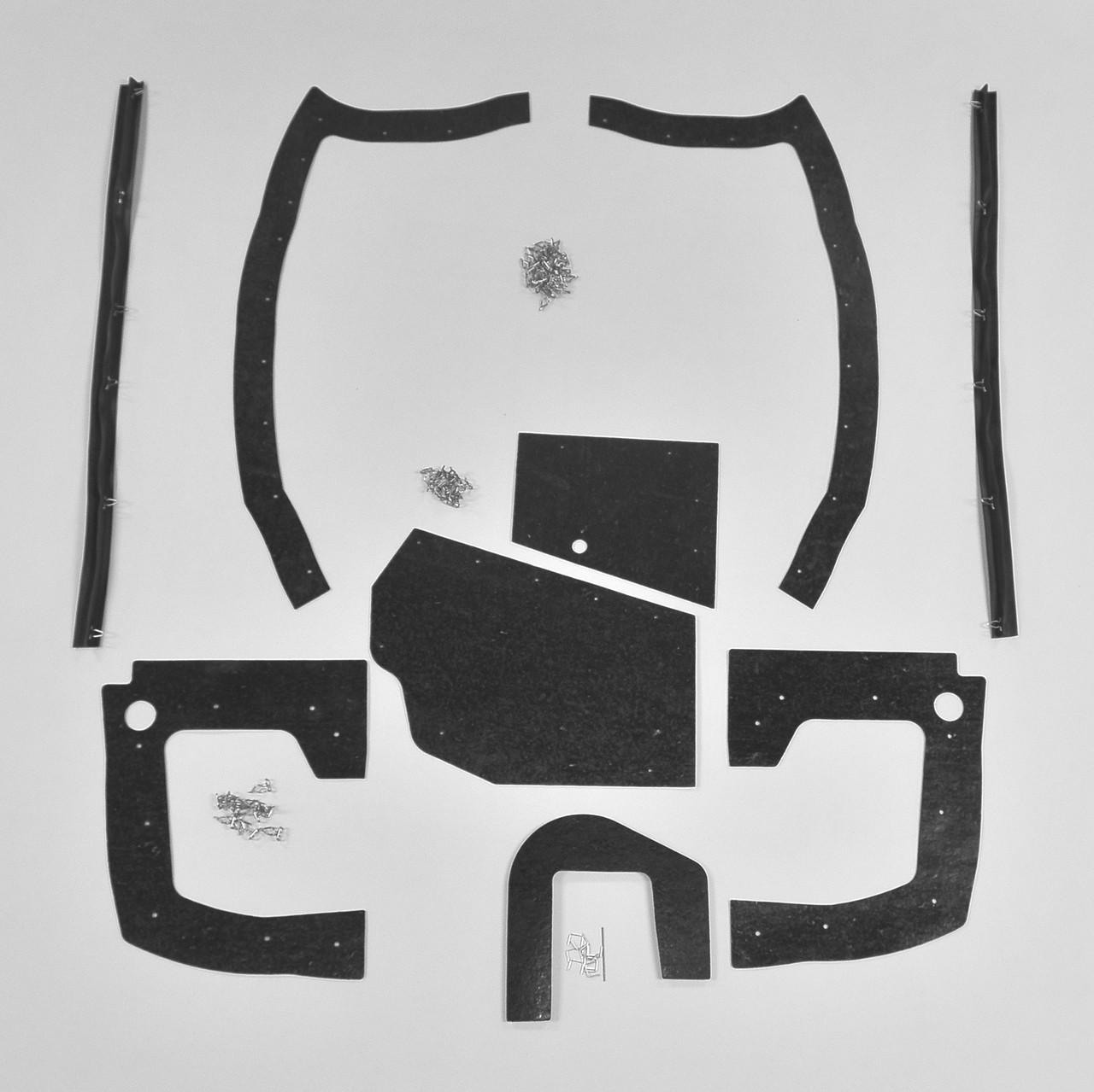 medium resolution of mopar b body 70 coronet super bee mega splash shield set auto detroit muscle technologies llc