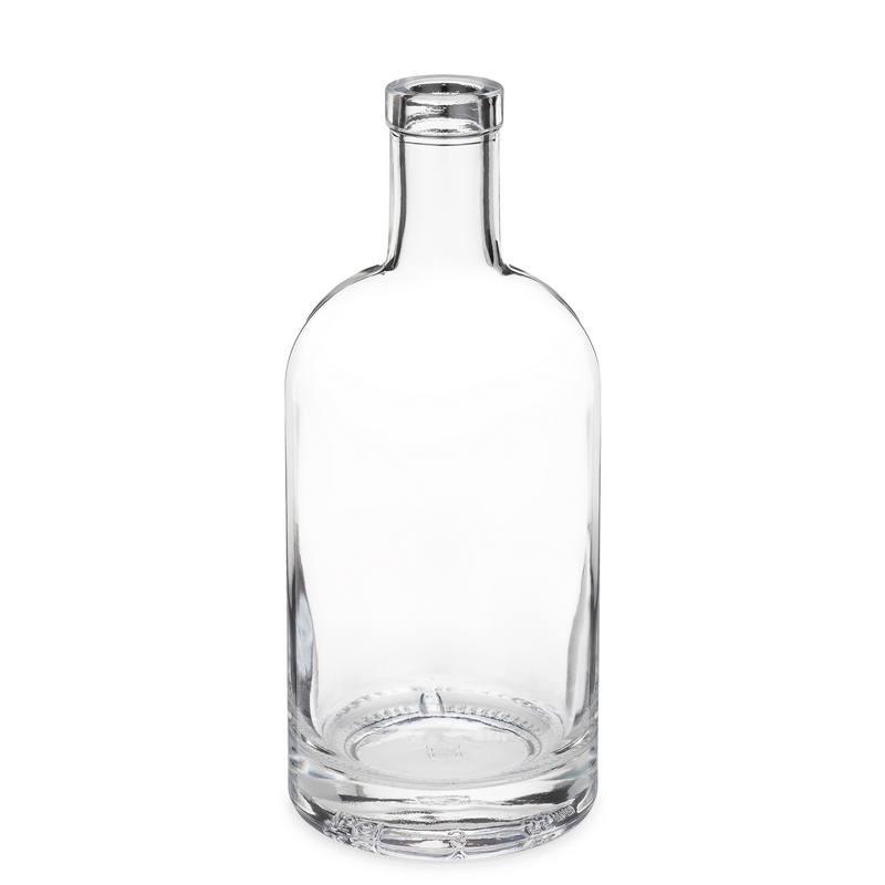 750 ml clear glass