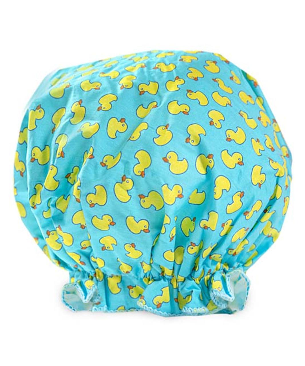 Shower Cap Pattern : shower, pattern, Bouffant, Rubber, Shower, Vintage, Cotton, Sisters