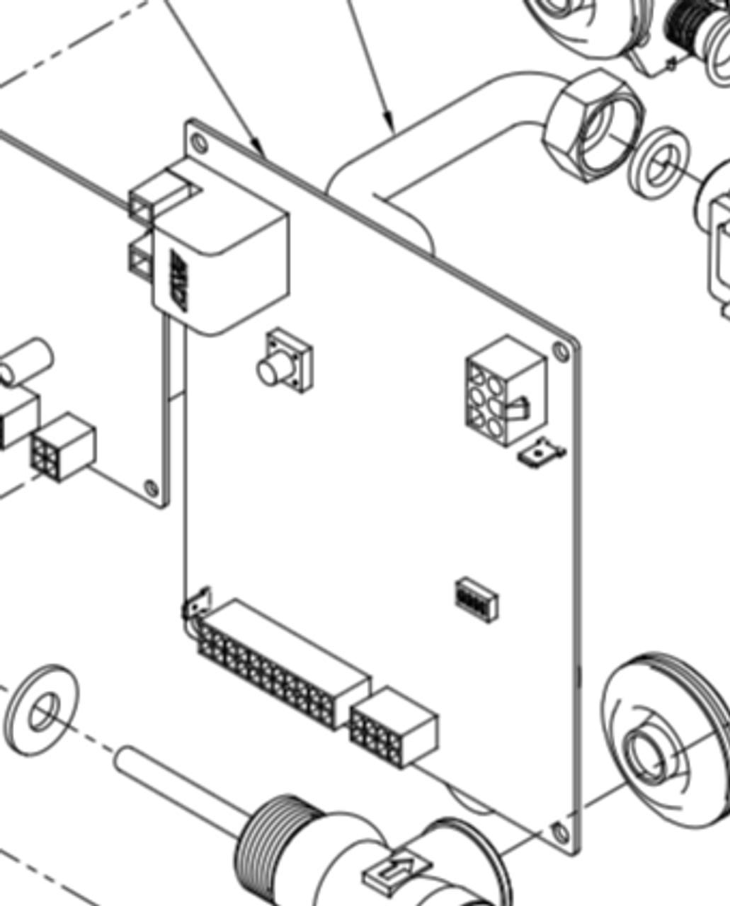 Suburban Rv Water Heater Parts Diagram : suburban, water, heater, parts, diagram, Suburban, Water, Heater, Module, Board, (Nautilus), Parts