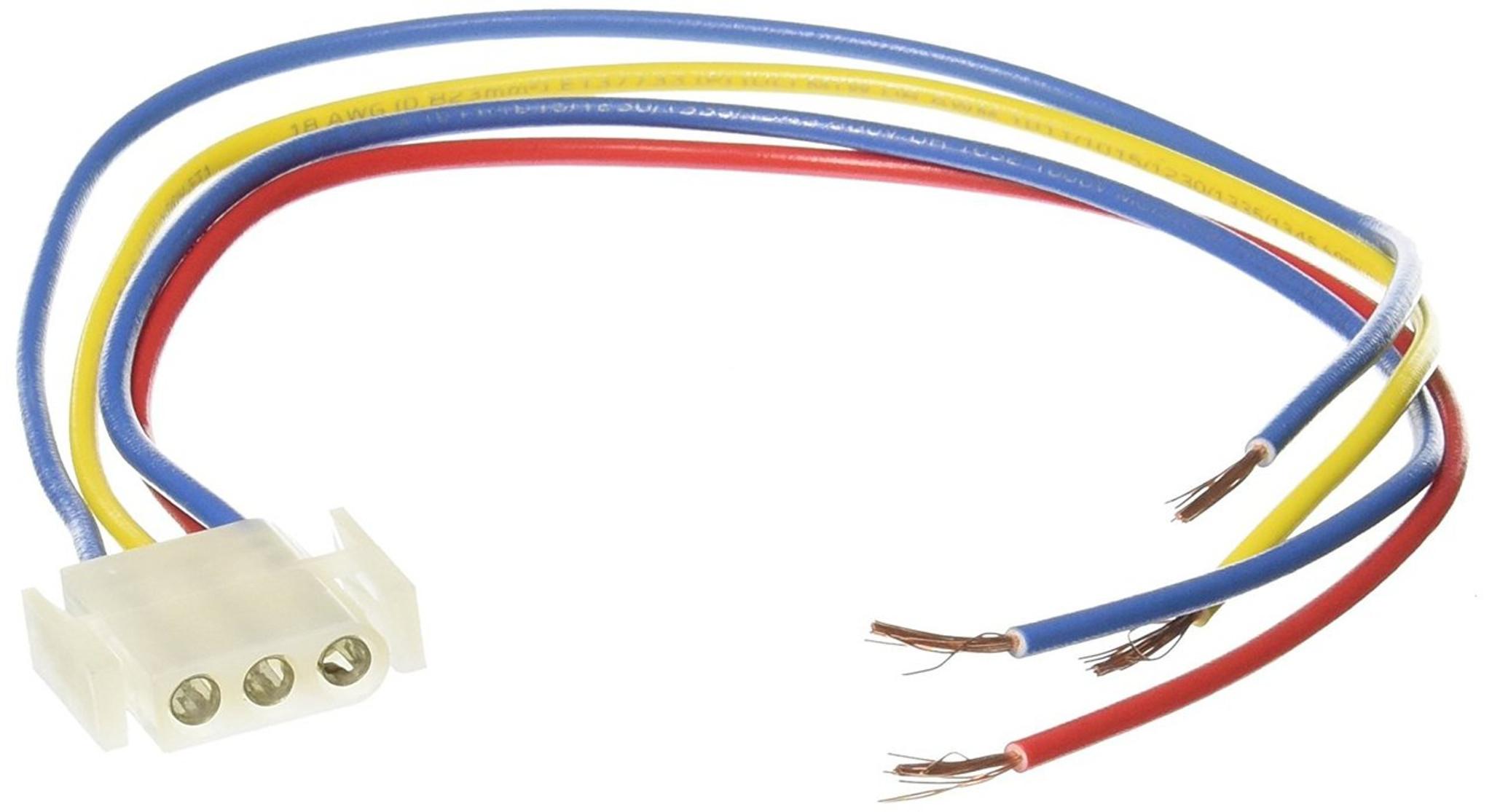 suburban furnace power supply wire harness 520322 3 pin female suburban rv furnace wiring harness [ 2048 x 1115 Pixel ]
