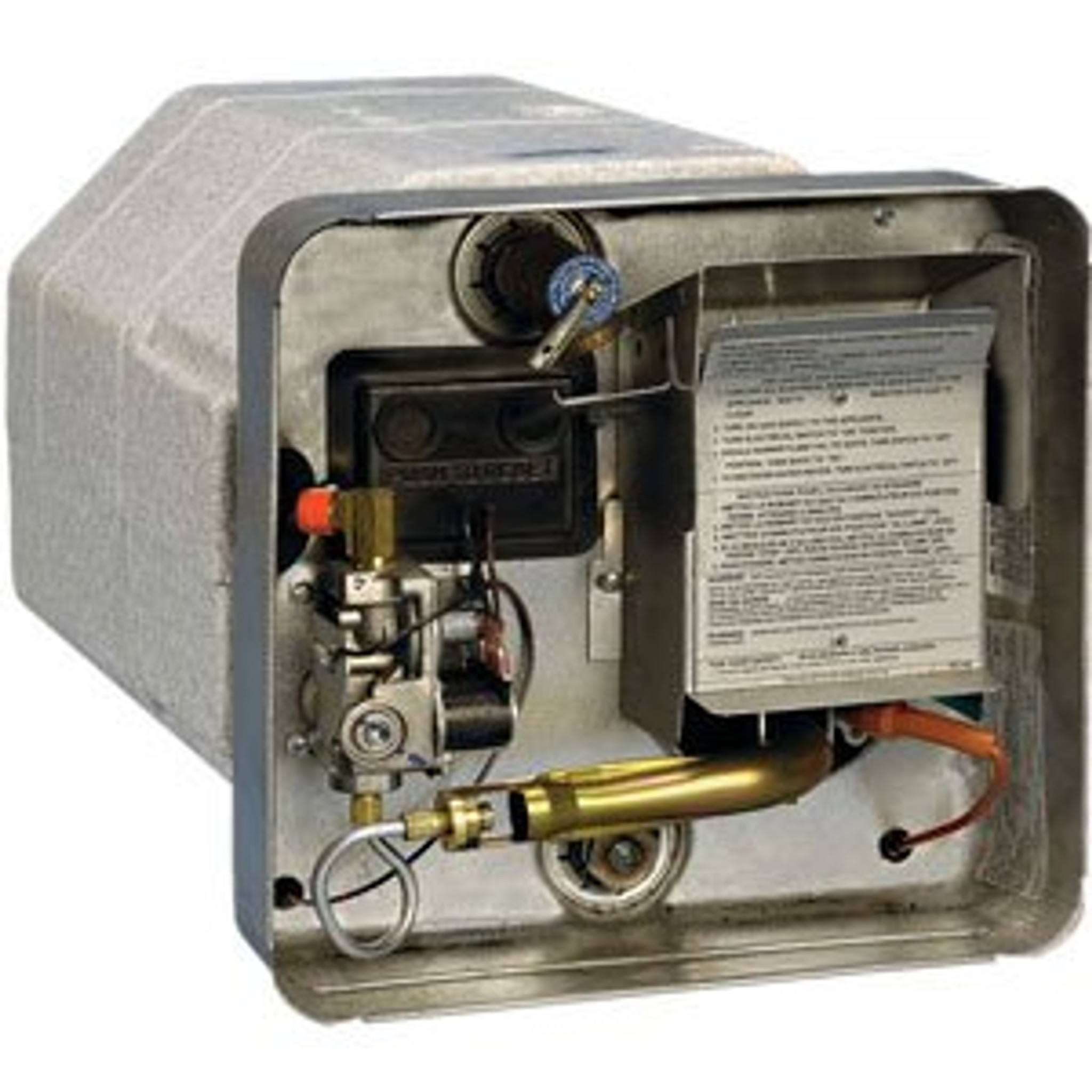 water heater gas electric model number sw12del 12 gallon direct spark [ 2048 x 2048 Pixel ]