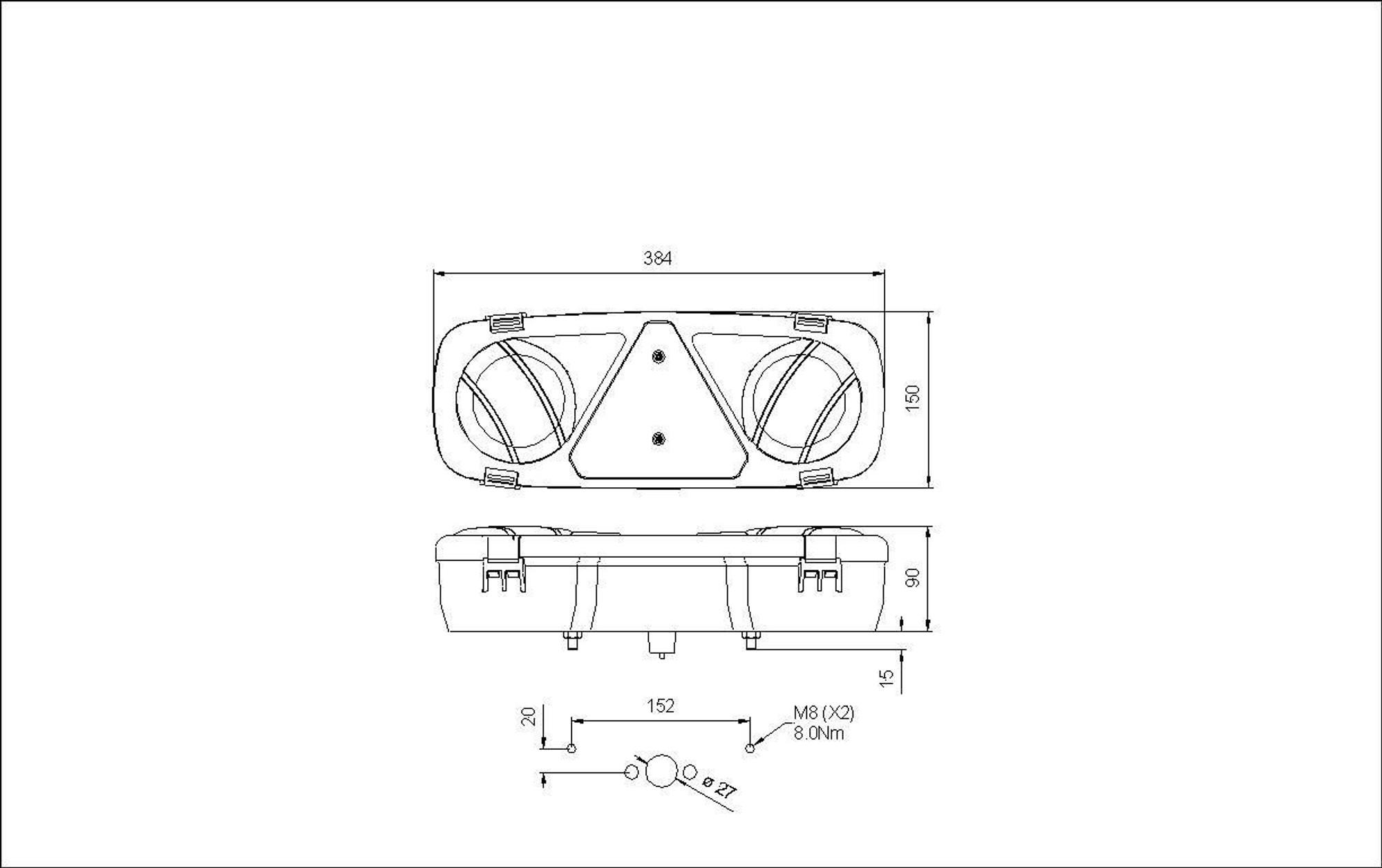 medium resolution of truck lite led tail light wiring diagram