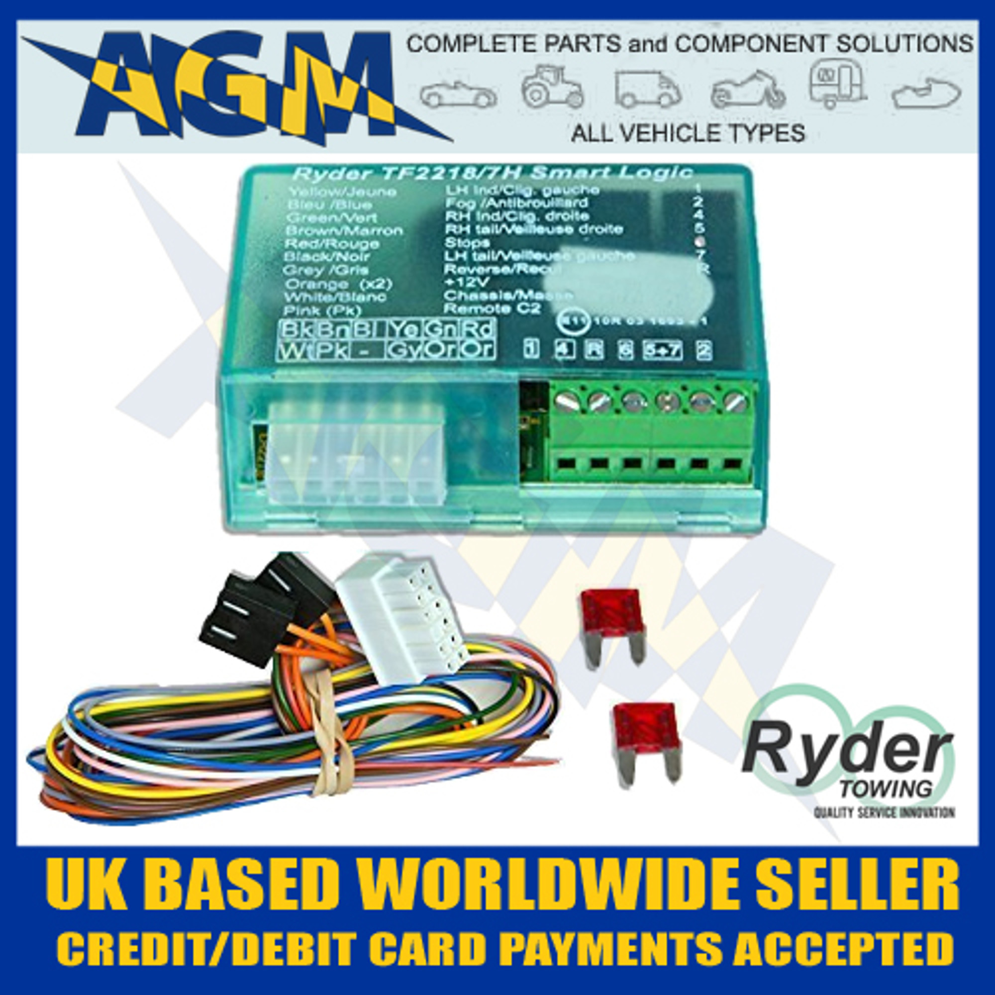 ryder smart logic bypass relay tf2218 7h can  [ 2000 x 2000 Pixel ]