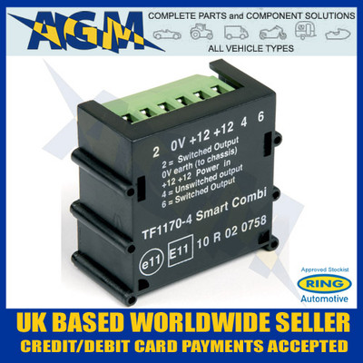 smartcom relay wiring diagram 9n ryder super smart combi caravan split charge towing 30 amp ring rct465 tf1170 4