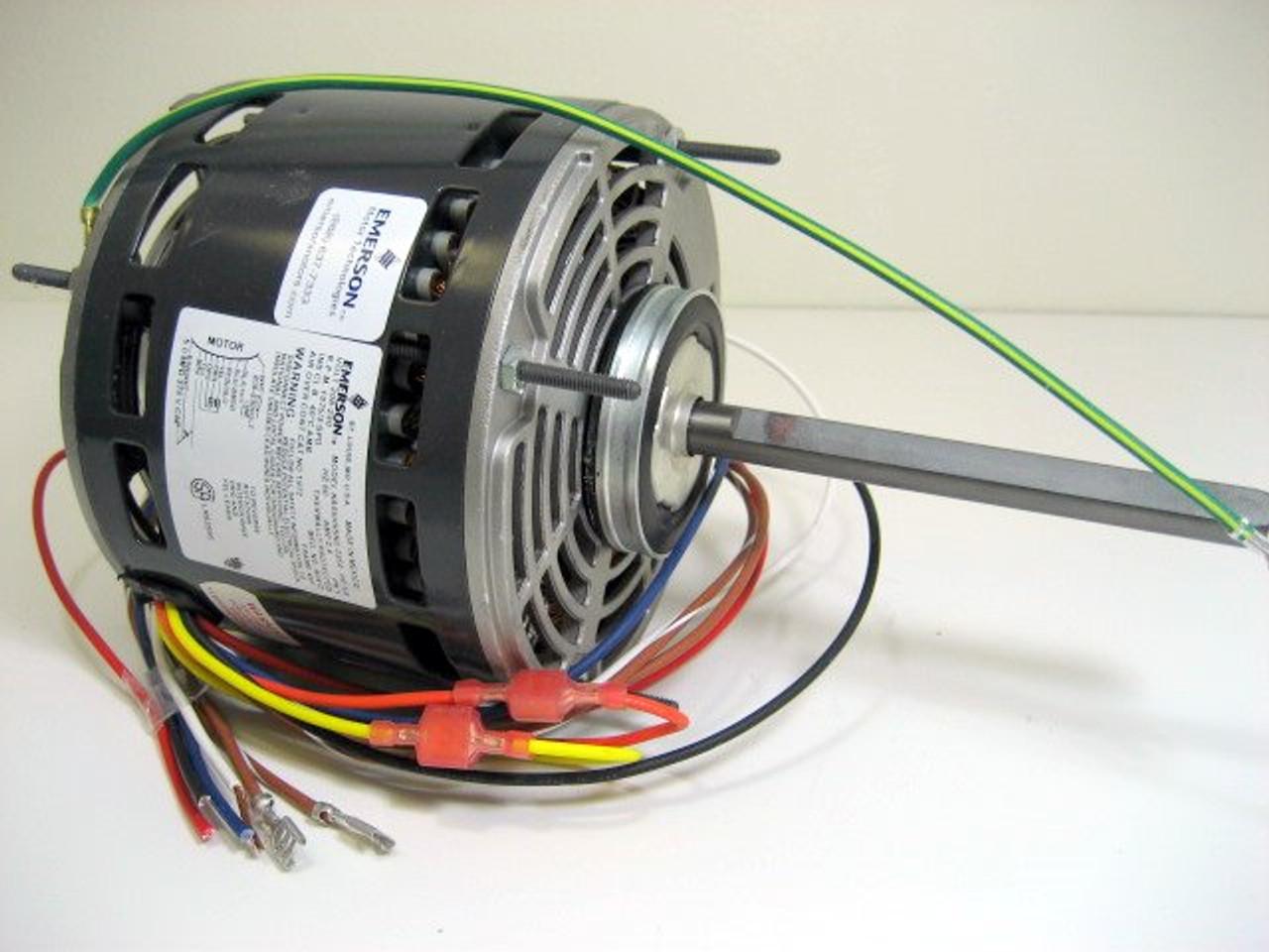 medium resolution of furnace blower motor 1 4 horse power 1075 rpm 115 volt eme1863