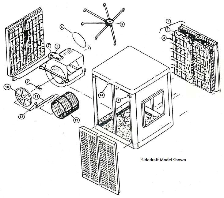 Adobeair Arctic Circle ES830 A-D Parts Breakdown List